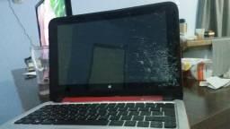 Usado, Notbook hp 360 que vira tablet(peças ou conserto) comprar usado  Palhoça