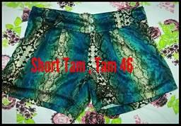 Troco por outro shorts