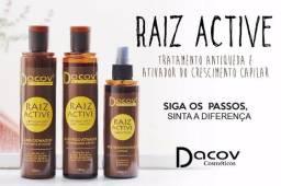 KIT Antiqueda Raiz Active Shampoo 250ml + Condicionador 250ml + Tonico 200ml