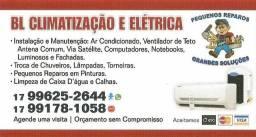Instalação e Manutenção de ar condicionado Elétrica e Hidráulica