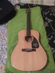 Violão Fender Dreadnought Acústico CD60 Natural Brilhante