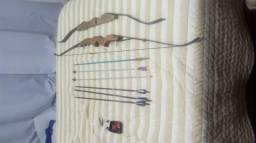 Arco com flechas profissionais