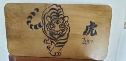 Desenho em madeira