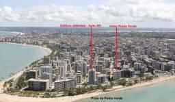 Lindo Apto em Maceió, Vista Lindíssima, 3 Qtos (1 suíte, 1 suíte reversível),frente ao mar