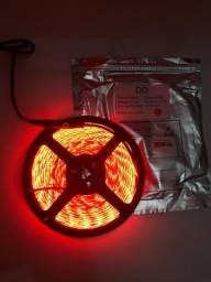 Fita de LED 3528 60 Leds por Metro c/ 5 Metros o Rolo com Silicone Alltech