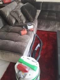 Higienização e impermeabilização de sofás