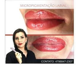 Micropigmentação Labial - Micropigmentacao e revitalização Labial