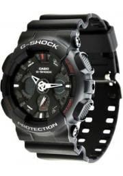 Relógio Masculino Casio G-Shock GA-120 Militar/Mergulho Profundo novo na caixa com NF