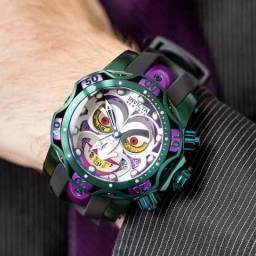 Relógio invicta Joker coringa novo na caixa 799