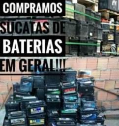 C0mpram0s sucatas de bateria velhas ou descarregadas