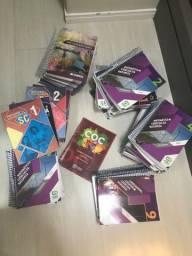 Livros pré-vestibular 500 reais