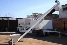 Central dosadora / usina de concreto móvel