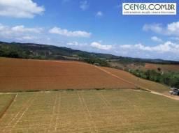 1908/Extraordinário terreno de 31 ha com agricultura em Carandaí