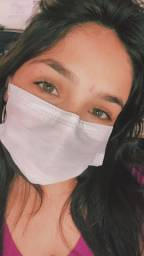 Máscara TNT descartável c/ clips nasal