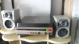 Som Philco Hitachi Stereo