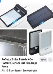 Refletor Solar. Não gasta energia da CEA