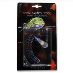 Densímetro Soma Salinity Tool - Teste De Salinidade Da Aguá