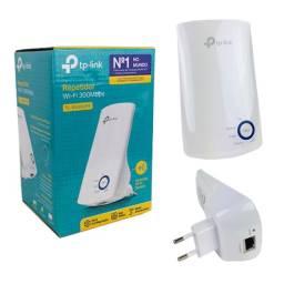 Repetidor de Wi-Fi TP-Link TL-WA850RE 300Mbps - Nota fiscal + Garantia