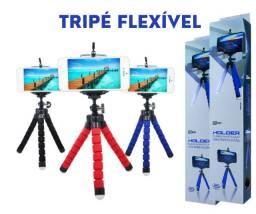 Tripé Flexível Celular e Câmera