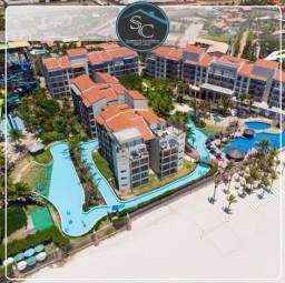 Apartamento no Beach Park Acqua Resort 28m² no Pool