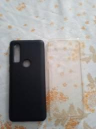 2 capinhas do Motorola one action