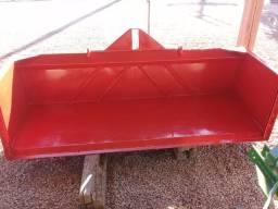 Plataforma basculante raspadeira