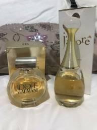 Perfume Dior J'dore 100ml e Armani Idole 75ml
