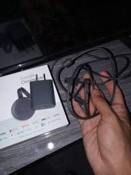 Chromecast 3 Original e funcionando perfeitamente