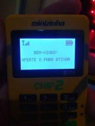 Maquina de Cartão Minizinha Chip2(Entrega Gratis)