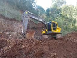 Escavadeira 100%parcelado Entrada R$ 12.000,00 mais parcelas