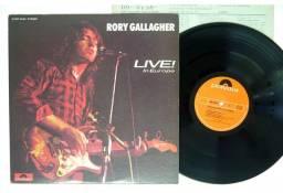 Rory Gallagher - Live in Europe - LP Vinil - Japonês