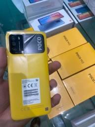Xiaomi poco M3 128GB 4GB ram 6000mAh amarelo preto e azul novos