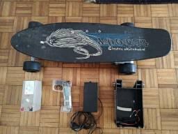 Skate elétrico completo bateria nova