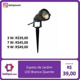Título do anúncio: Lâmpada Espeto de Jardim LED | Branco Quente | 3W