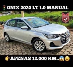 Onix 2020 Lt 1.0 Manual, R$64.900,00;