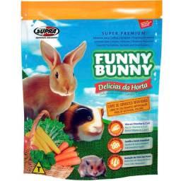 Racao funny bunny 500g hamster coelho roedores