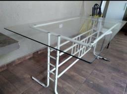 Mesa de vidro (vendo ou troco)