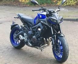 Título do anúncio: Mt 09 Yamaha moto top das galáxias aceito maverick