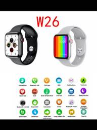 Smart Watch Iwo12 Lite W26 Bluetooth Serie 6 Tela Infinita