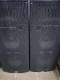Título do anúncio: Vendo caixas de som ativas 350w