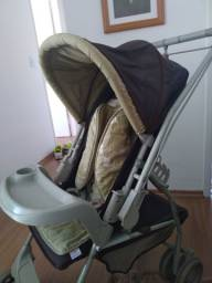 Título do anúncio: Vendo carrinho de bebê Galzerano Milano