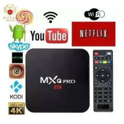 Tv Box Smart 4k Pro 5g 4gb/ 64gb Wifi Android 10.1