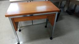 Título do anúncio: Mesa de apoio para escritório, madeira 0,80 mts
