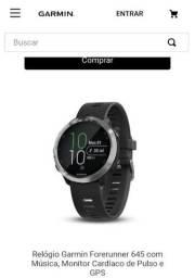 Relógio GPS Garmin Forerunner 645 Music