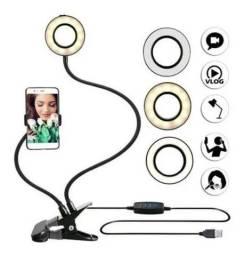 Luminária Ring light suporte celular / Live/ YouTuber