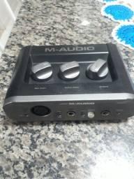 Título do anúncio: Interface m-áudio fast track