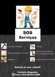 Título do anúncio: SOS Serviços - Temos o profissional que você precisa