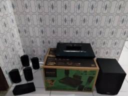 Home theater Sony 3D wi-fi Bluetooth Netflix YouTube 1.000w