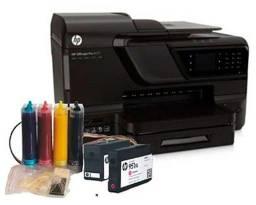 Título do anúncio: hp 8600 com bulk-ink