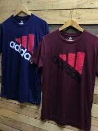 Camiseta básica R$ 22,00 cada, à vista